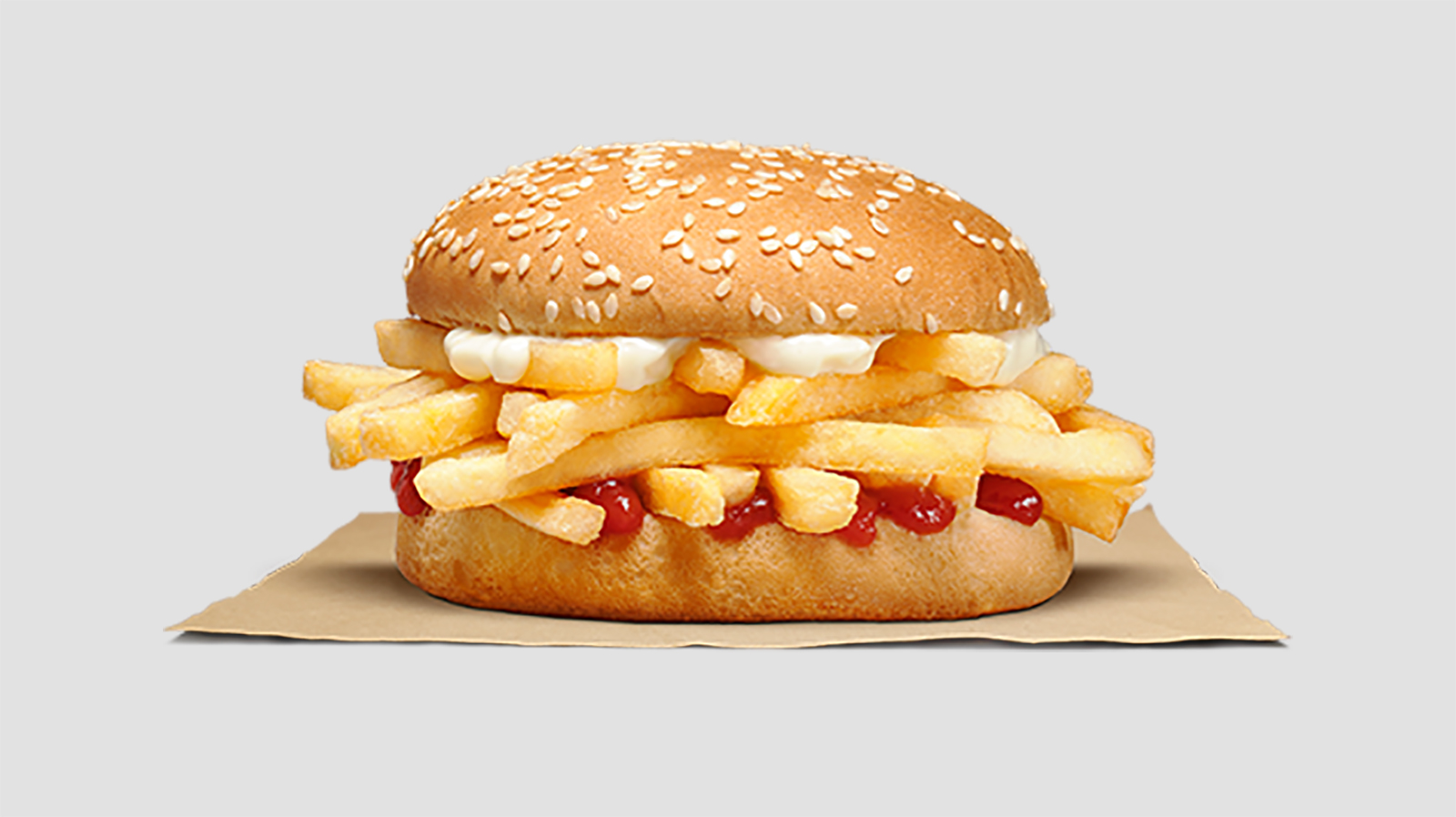 Burger King debuts a french fry sandwich and Wendy's isn't impressed
