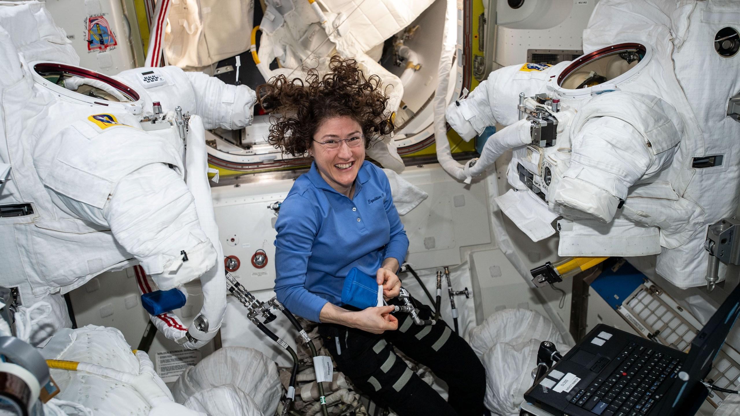 NASA Astronaut and North Carolina State University alumna Christina Koch