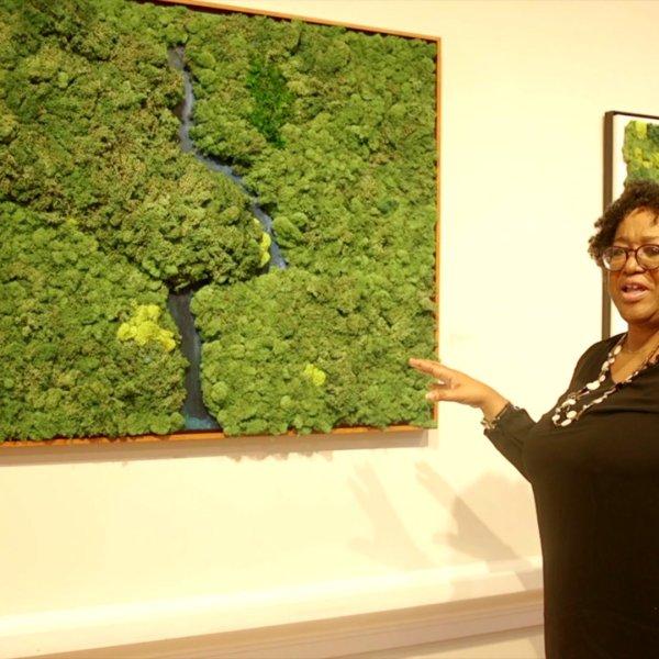 Local artist creates 'living aura' works of art