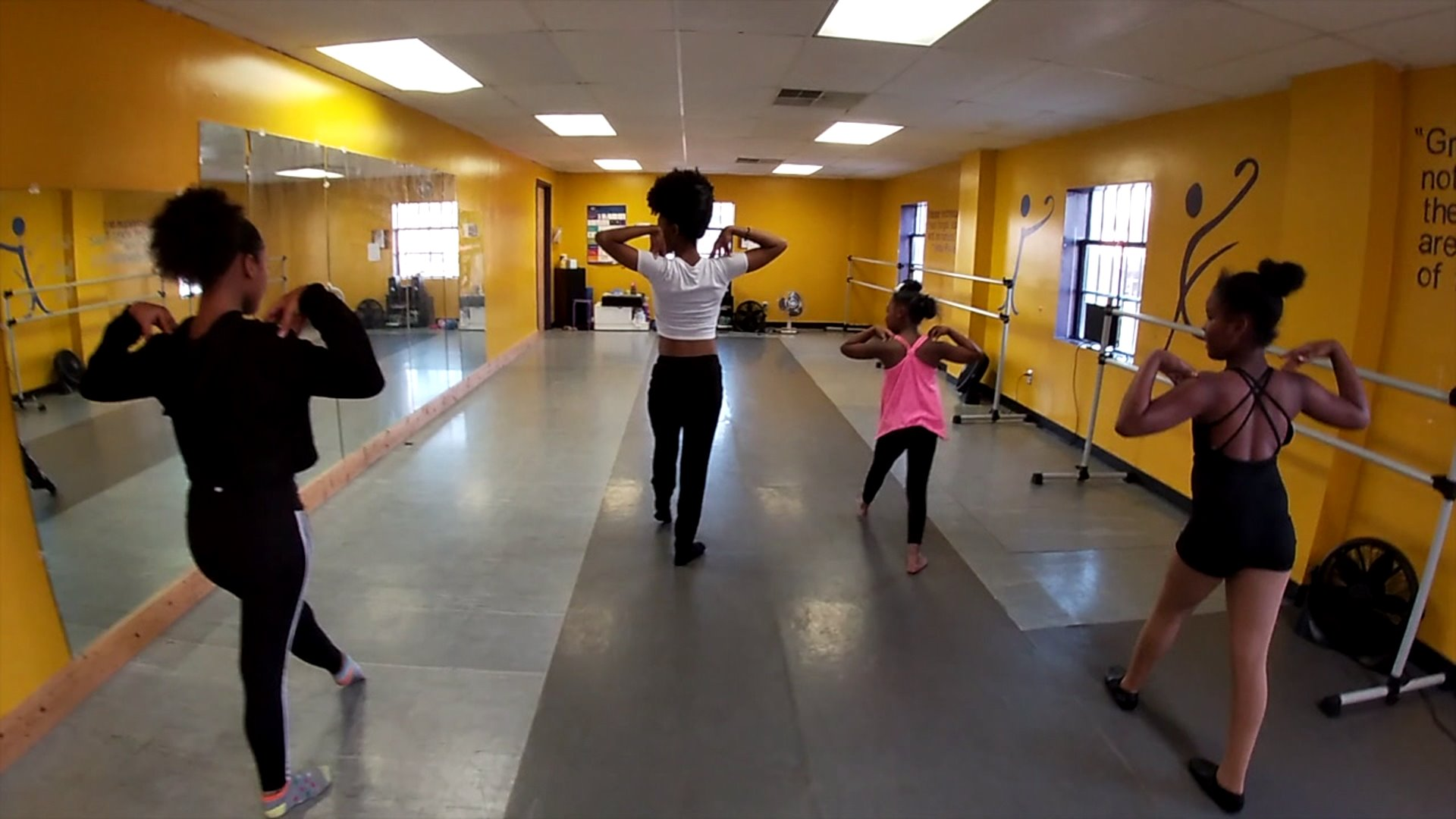Dance program in Greensboro helps at-risk youth