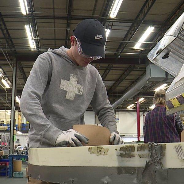 Interns learn manufacturing skills in Thomasville