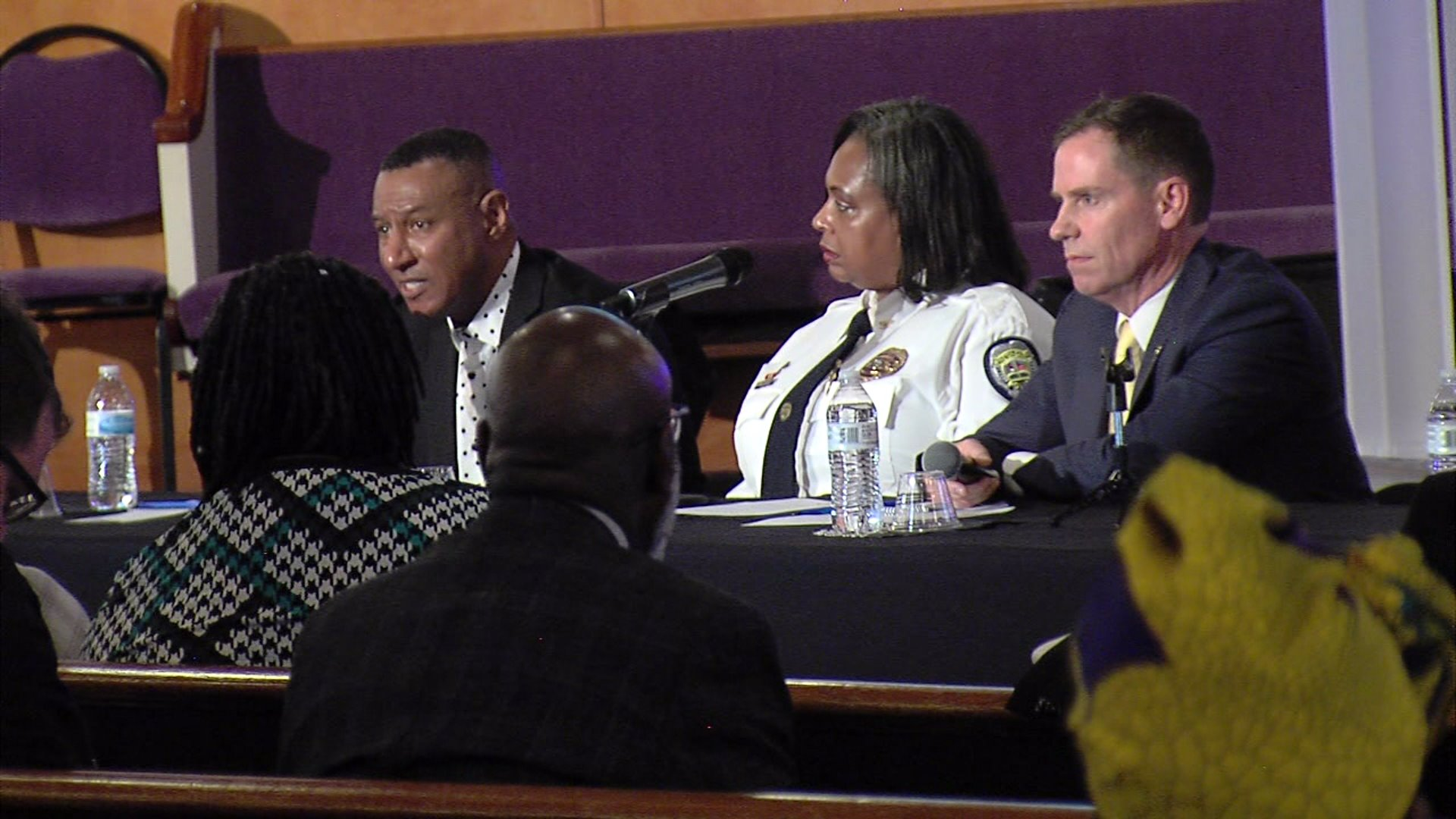 Forsyth County leaders host roundtable discussion about gun violence.