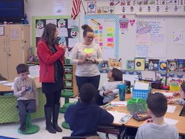 FOX8 honors Pearce Elementary School's Julie Mabe. Congrats, Julie!