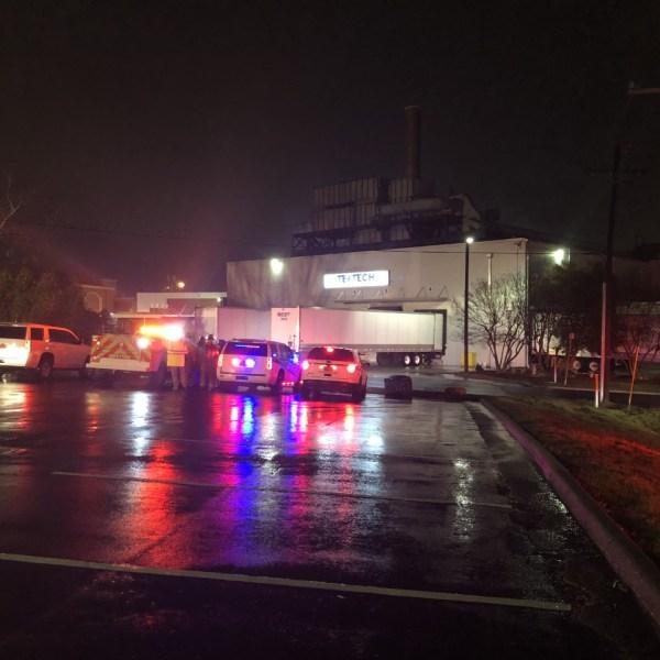 Fire at TexTech Coatings (Joe Dougherty/WGHP)
