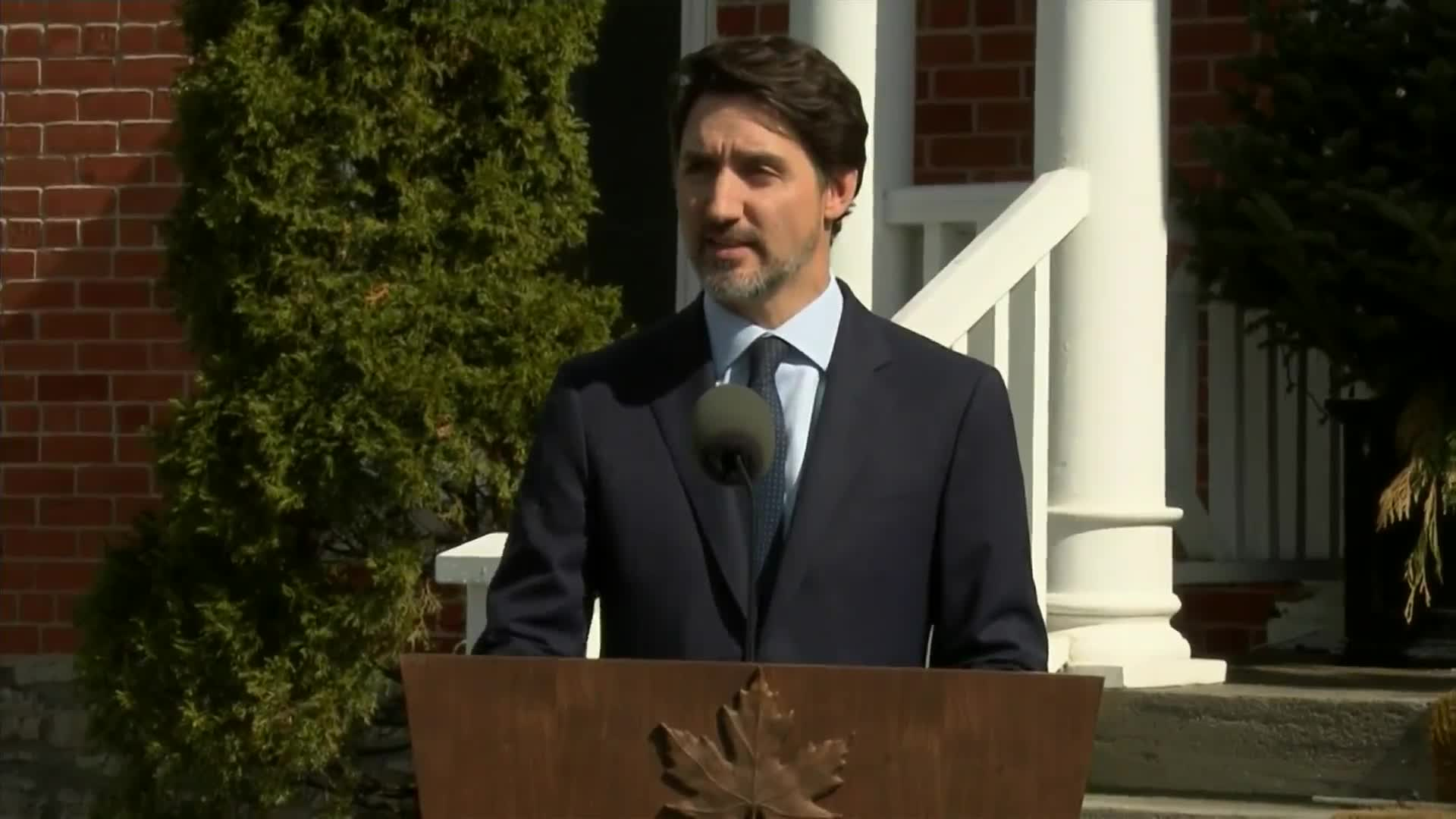 Canadian Prime Minister Justin Trudeau says he is closing Canada's borders to anyone who is not a citizen or a permanent resident amid the coronavirus pandemic.