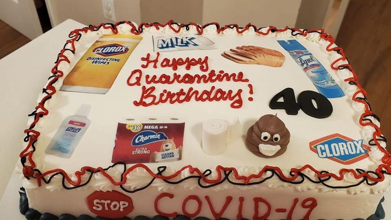 Superb Local Baker Helps People Celebrate Birthdays Amid Coronavirus Personalised Birthday Cards Vishlily Jamesorg