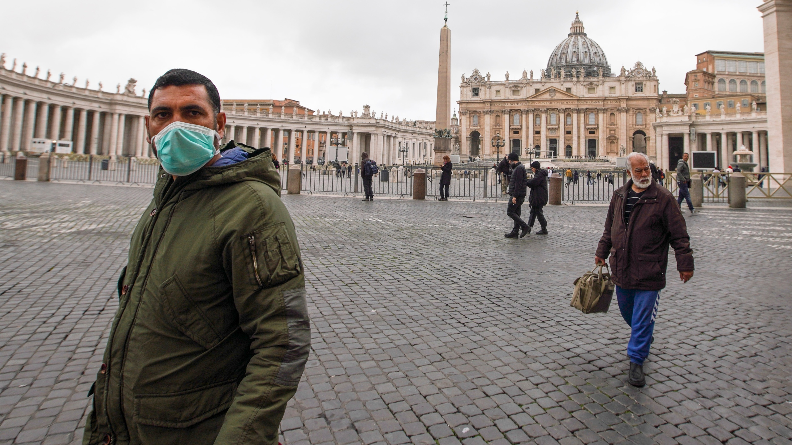 Vatican Confirms 1st Coronavirus Case As Pope Recovers