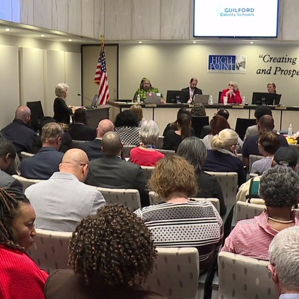 Guilford County Schools leaders announced their coronavirus plan to board members Tuesday evening.
