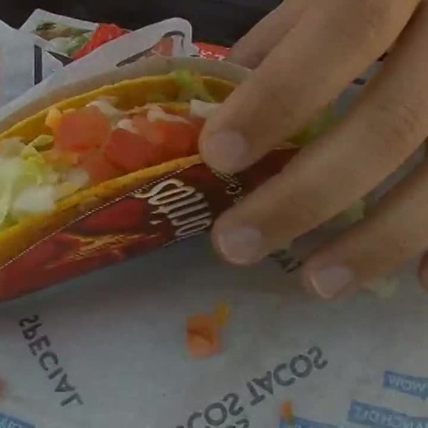 Taco Bell giving out free tacos Tuesday