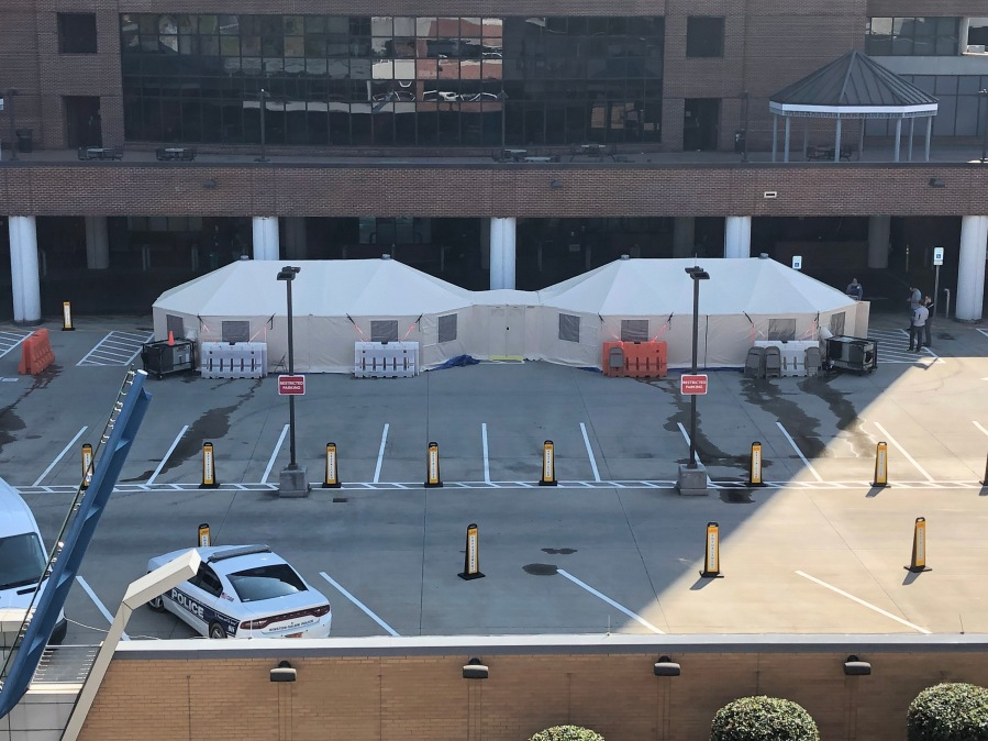 Wake Forest Baptist Medical Center to set up coronavirus assessment sites at local hopsitals (credit: Wake Forest Baptist Health)