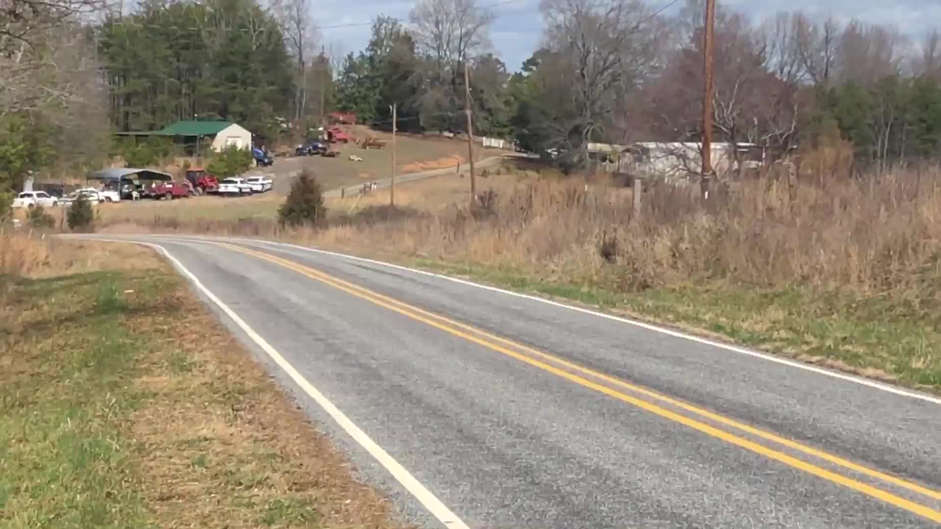 A man was barricaded inside a Rockingham County home after he allegedly pointed a firearm at deputies, according to the sheriff's office.