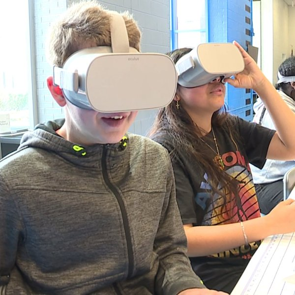 The Verizon Innovative Learning Lab at East Forsyth Middle School is a public/ private partnership that will really pay off big for the students.