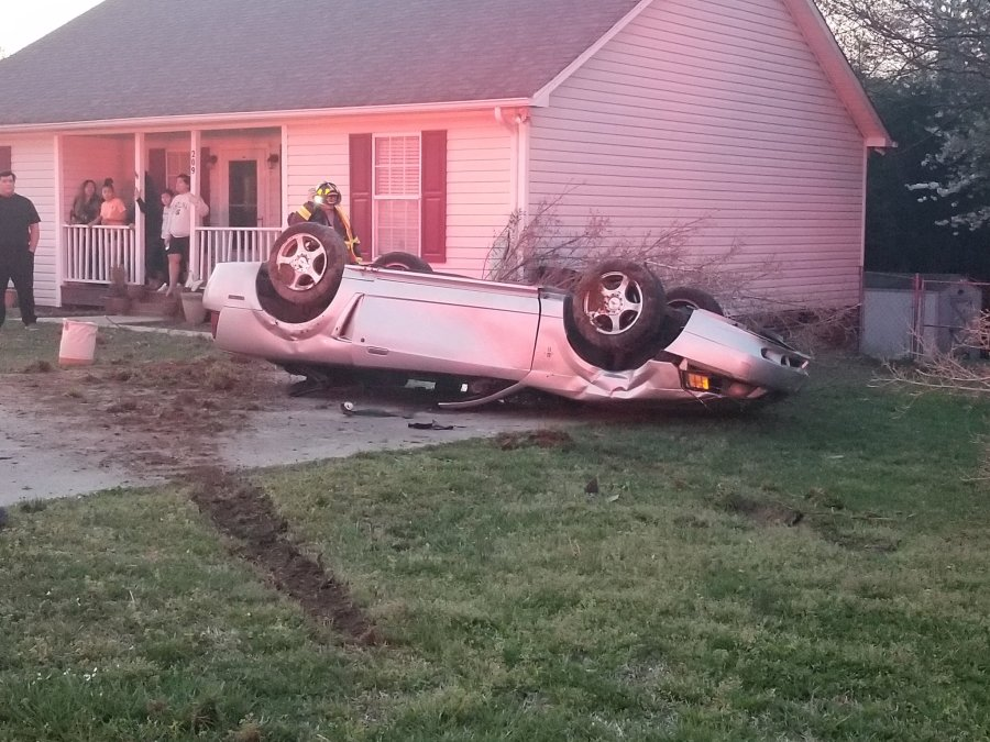 Car flips during crash Thomasville; police say alcohol is suspected