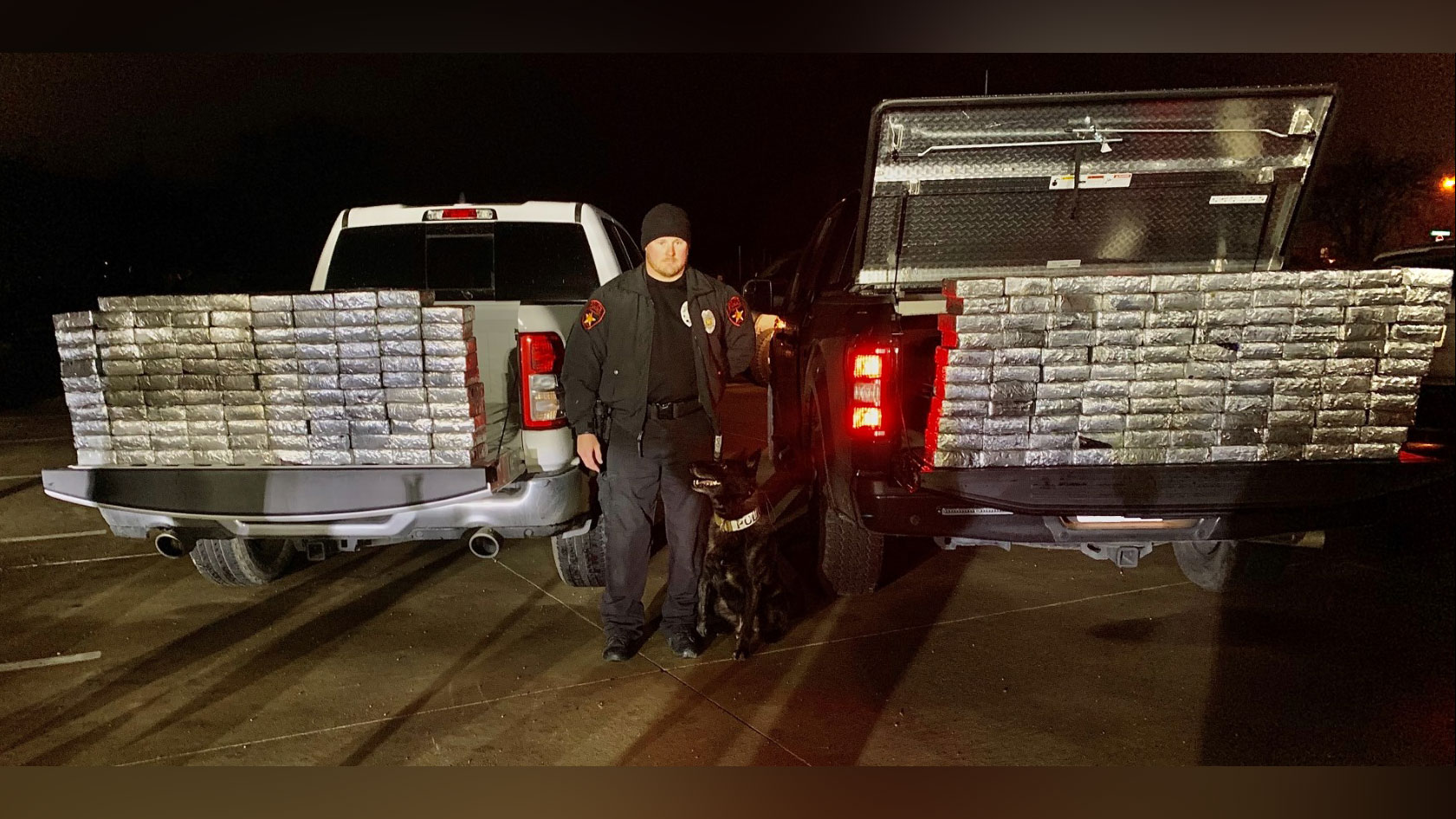 Police K-9 sniffs out $1.2 million worth of meth