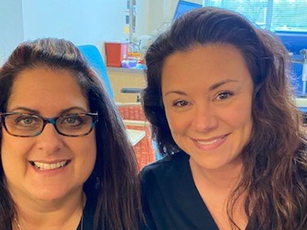 FOX8 Highlighting Heroes: LaMarci Holder and Denise Kirkus, phlebotomists for Wake Forest Baptist Health