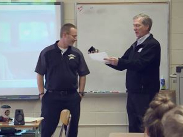 Educator of the Week: Kevin McLaughlin