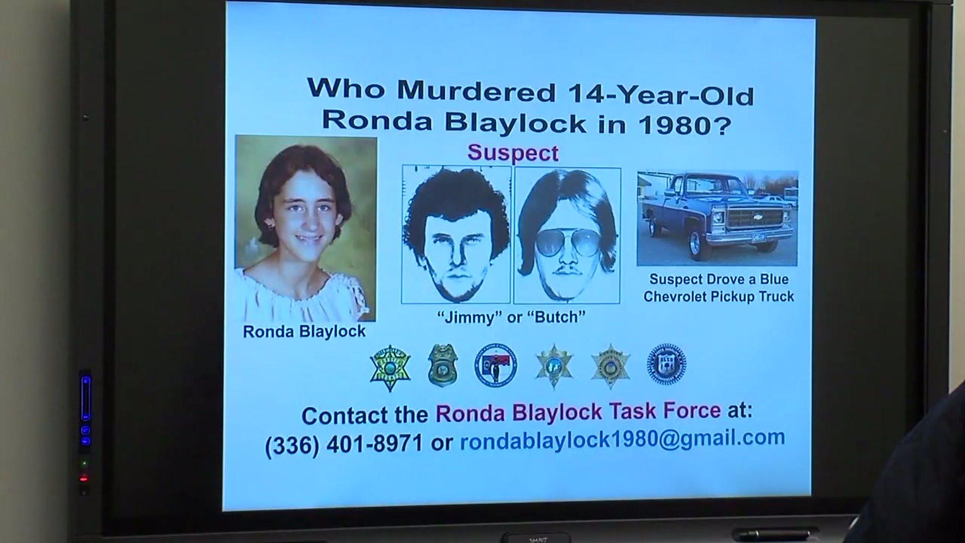 Ronda Blaylock investigation
