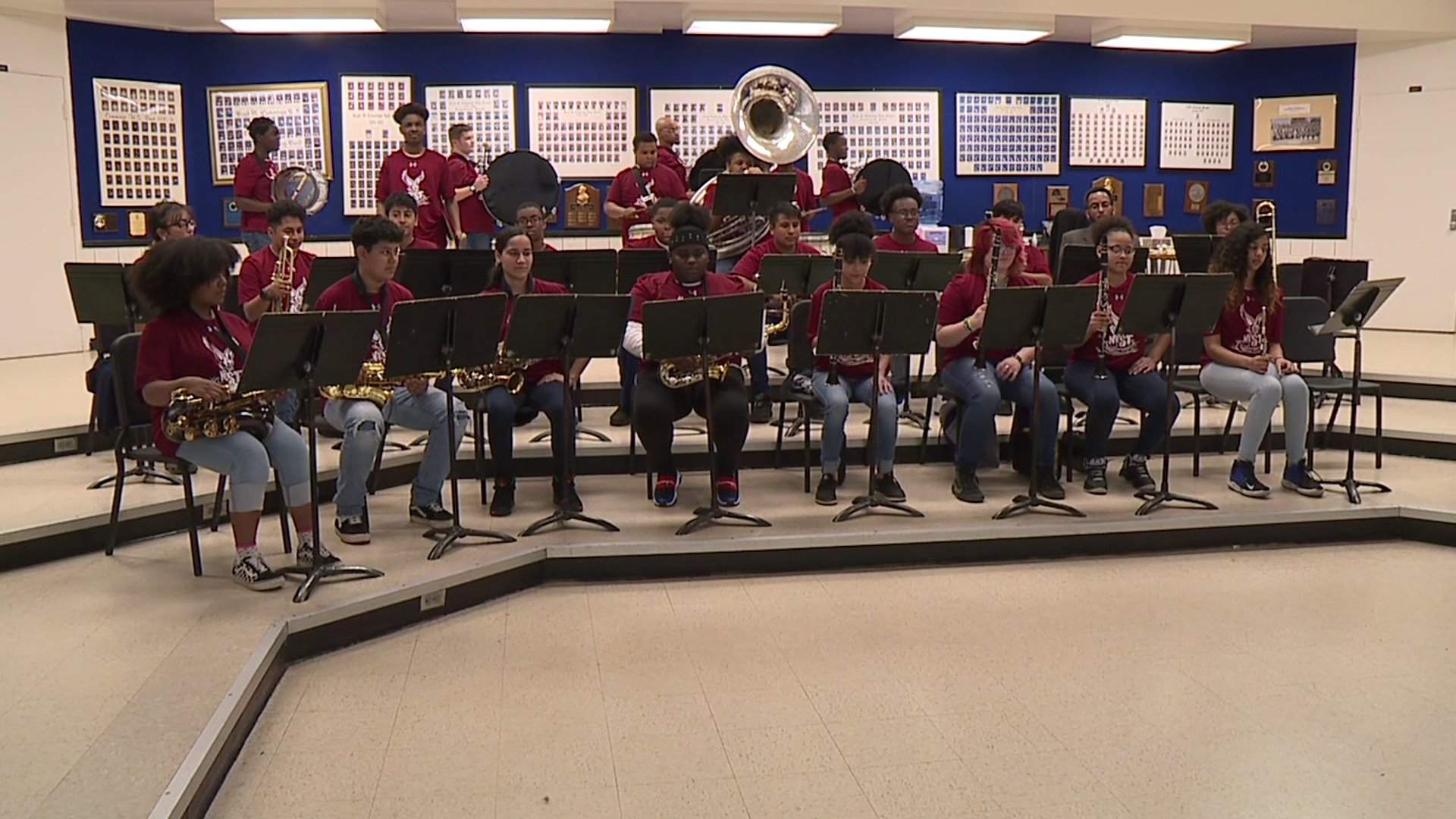 Burlington Cummings band to play for Boston College at ACC tournament