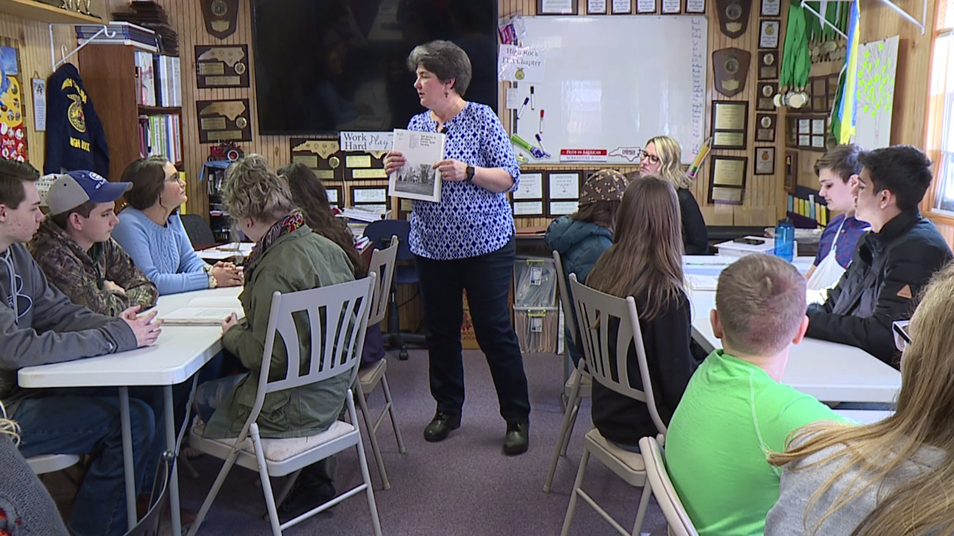 Local teacher inducted into NC Envirothon Hall of Fame