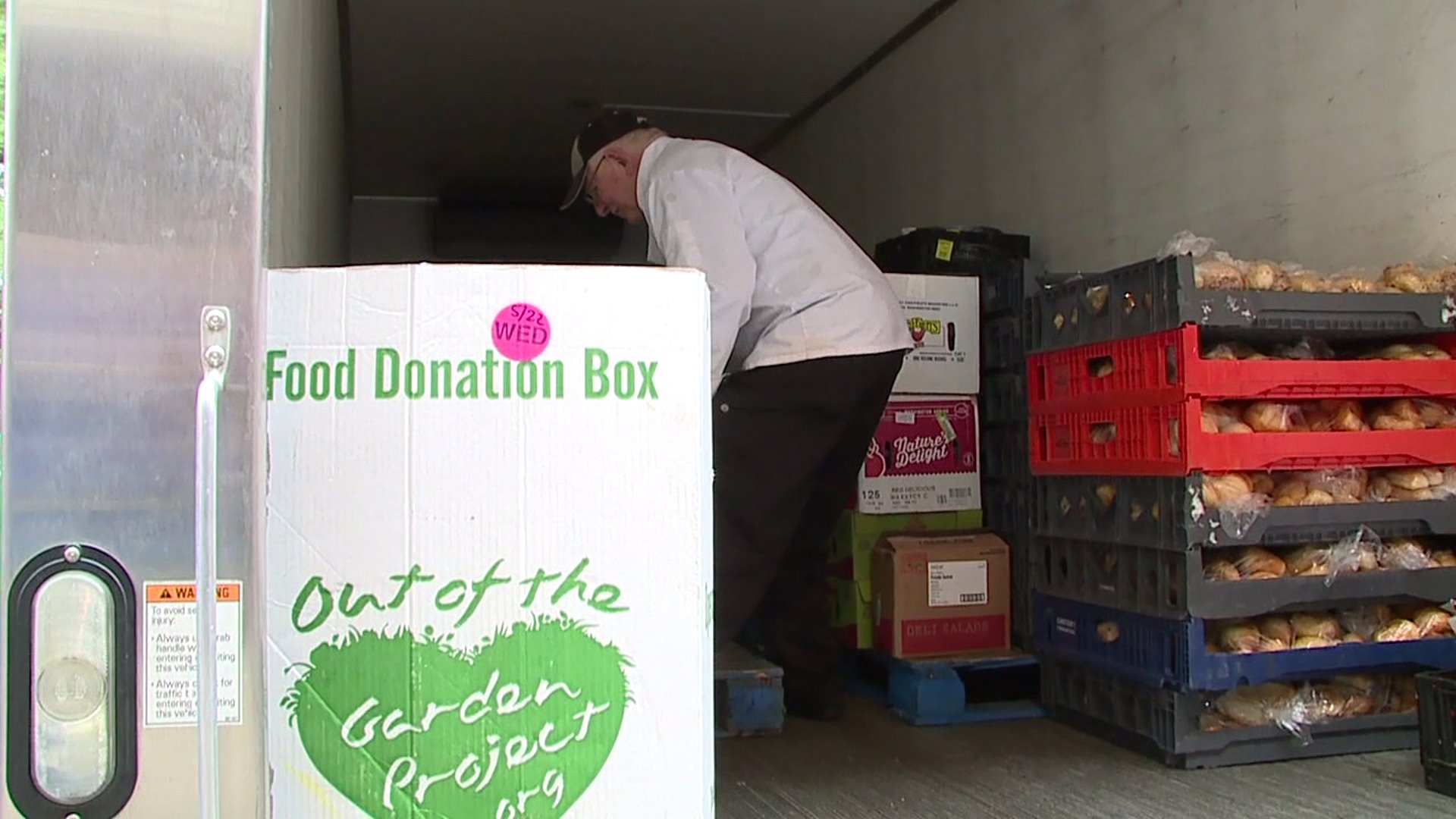 Out of the Garden Project using donated food from canceled ACC tournament to feed kids in need
