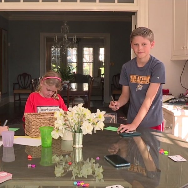 Piedmont parents adjust to working from home, educating kids at same time