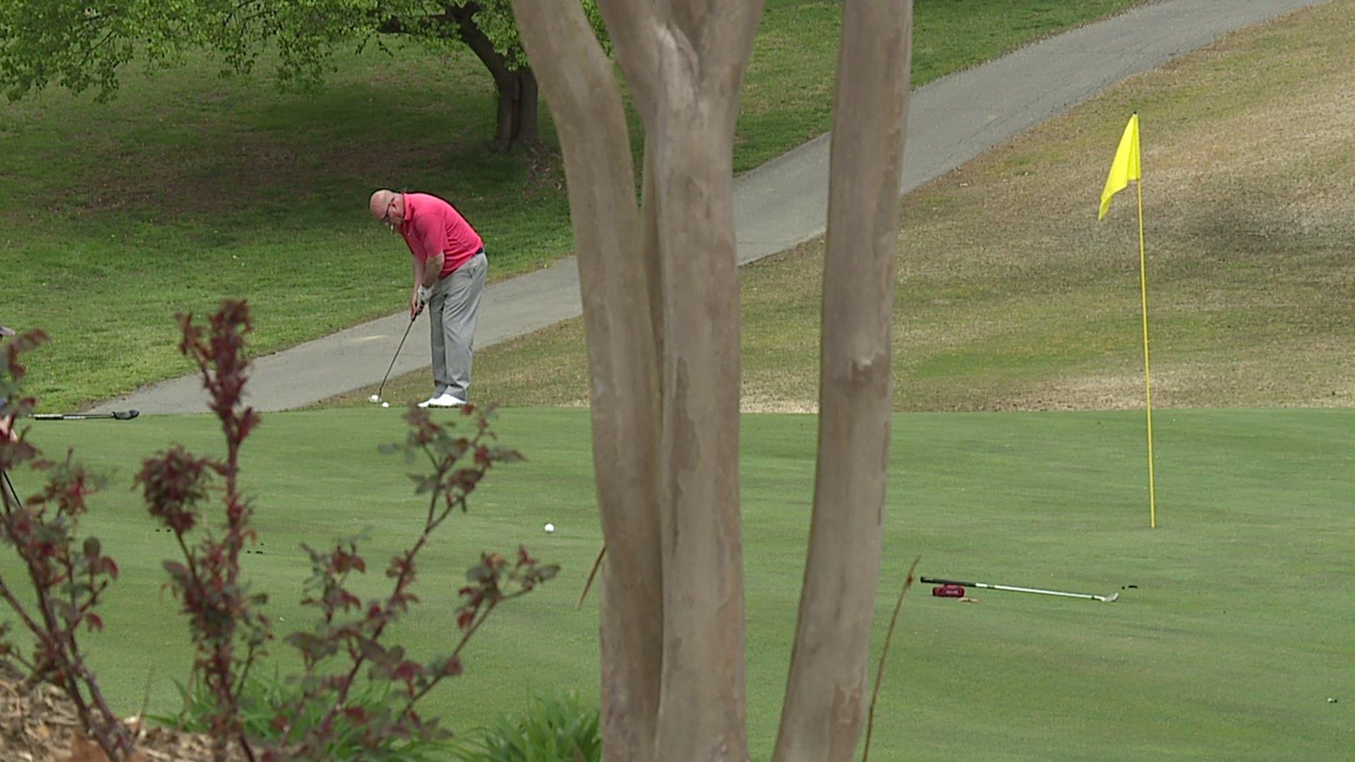 Local golfers still enjoying the sport while following coronavirus guidelines