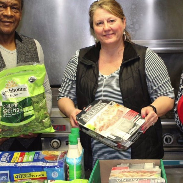 Costco cashier pays bill for church group buying food for homeless families in need