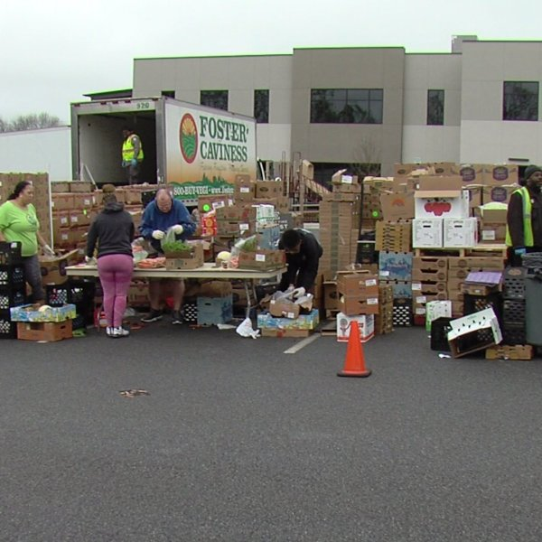 Local organizations working together to feed families in the Guilford County school district