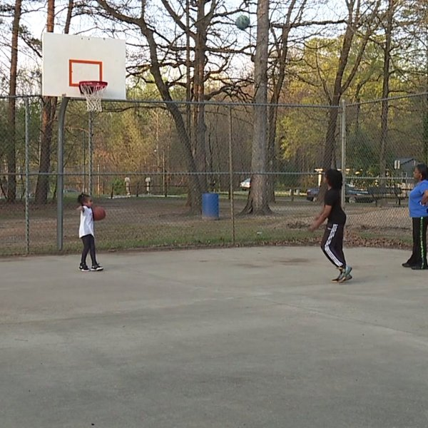 People visit local parks as stay at home order in effect in Greensboro