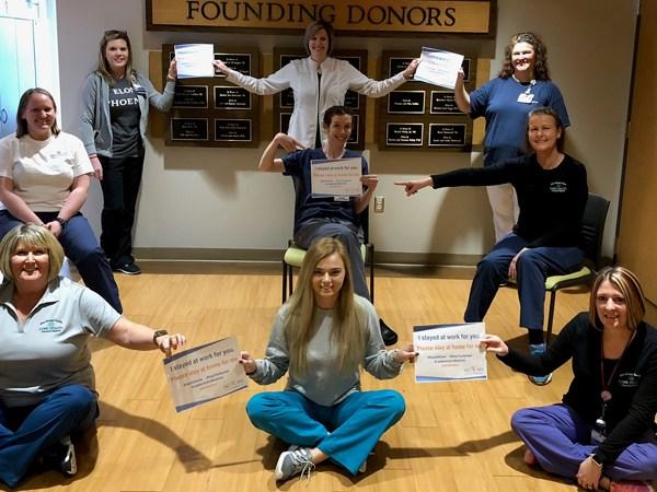 FOX8 Highlighting Heroes: Student health staff at Elon University