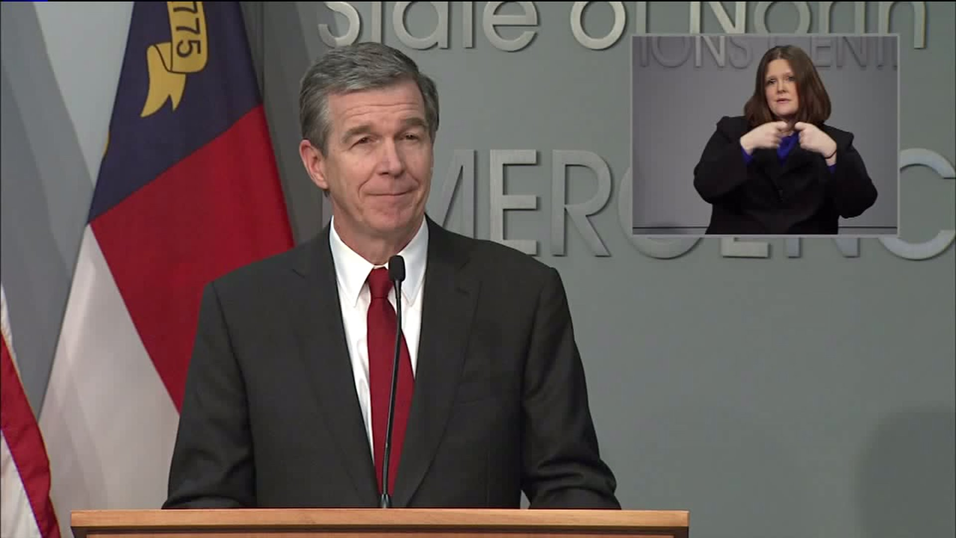 Governor Roy Cooper signs executive order to stop utilities from being cut off for people who can't pay for next 60 days