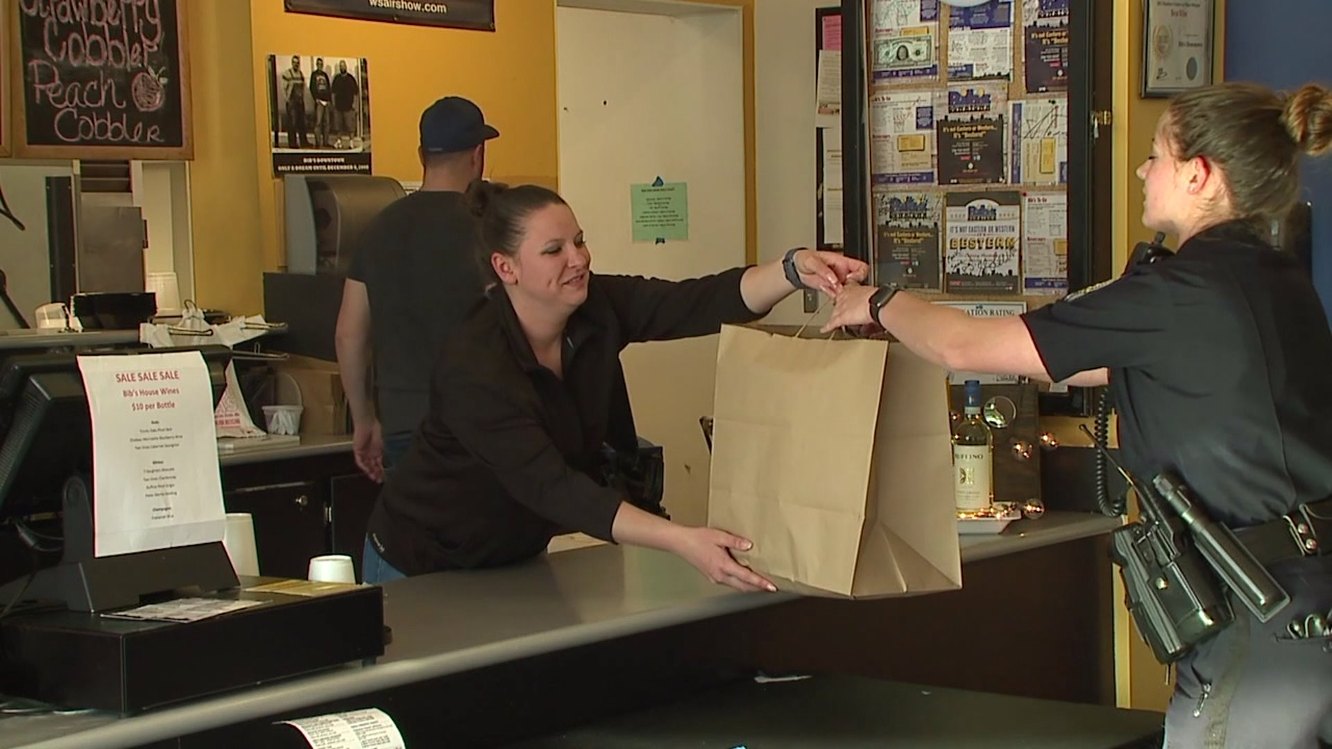 Donation allows Winston-Salem restaurant to provide 300 meals for officers