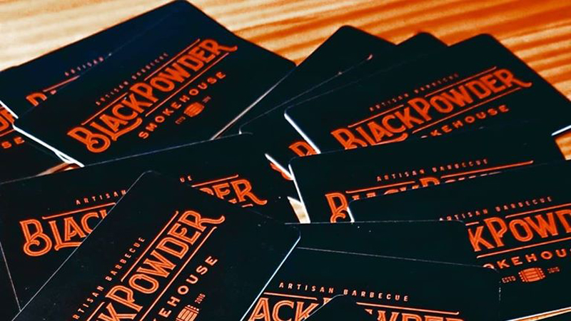 Jamestown restaurant shares heartwarming story of customer who bought $500 in gift cards to help people in need (Photo: Black Powder Smokehouse)