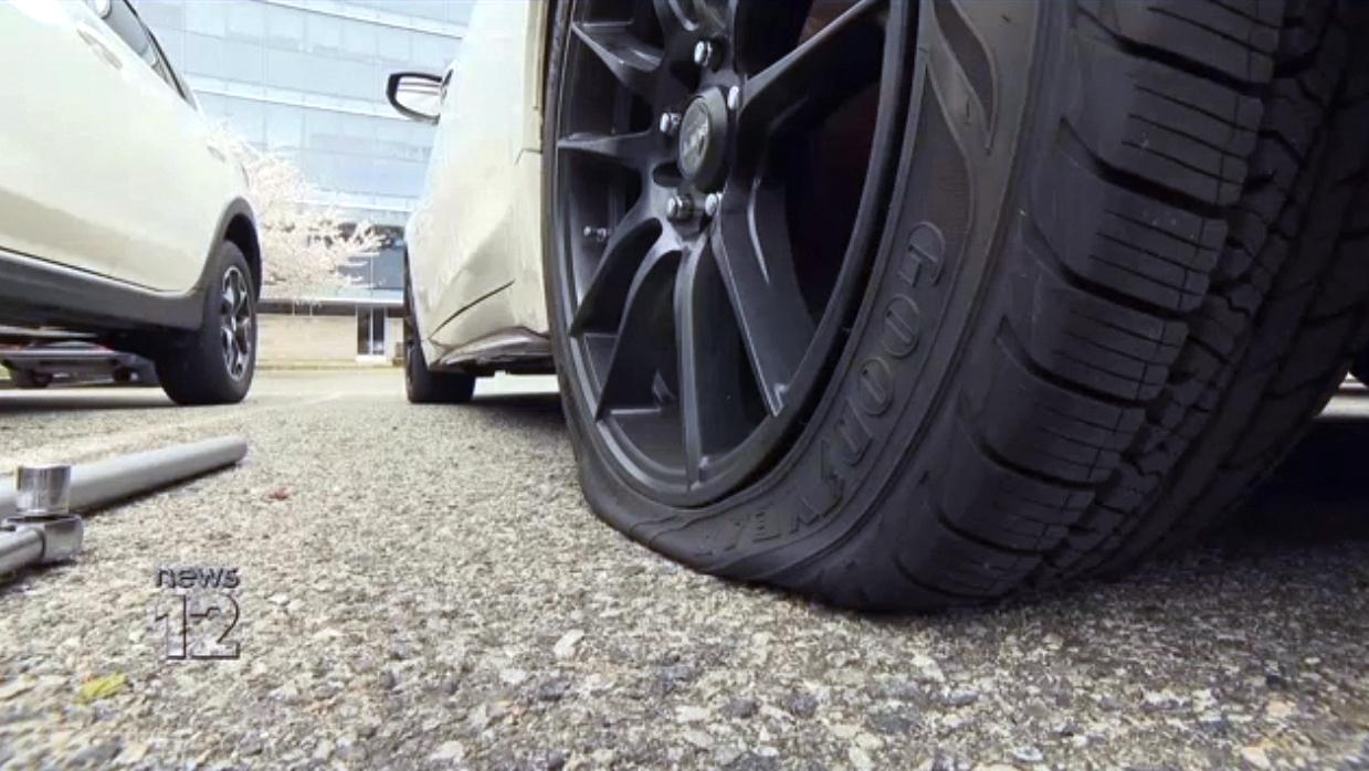 Nurses praised for work during coronavirus crisis find their tires slashed