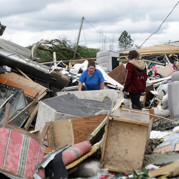 Storms tear through South amid pandemic; more than 30 dead