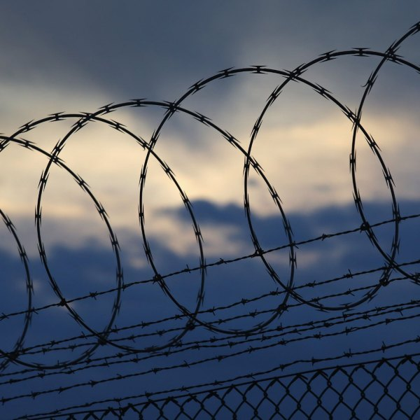 Barbed wire, prisons (Photo by John Moore/Getty Images)