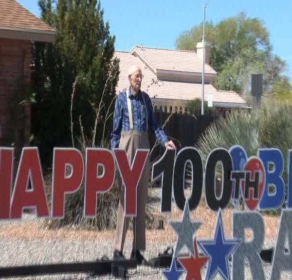World War II veteran celebrates 100th birthday with parade amid coronavirus restrictions
