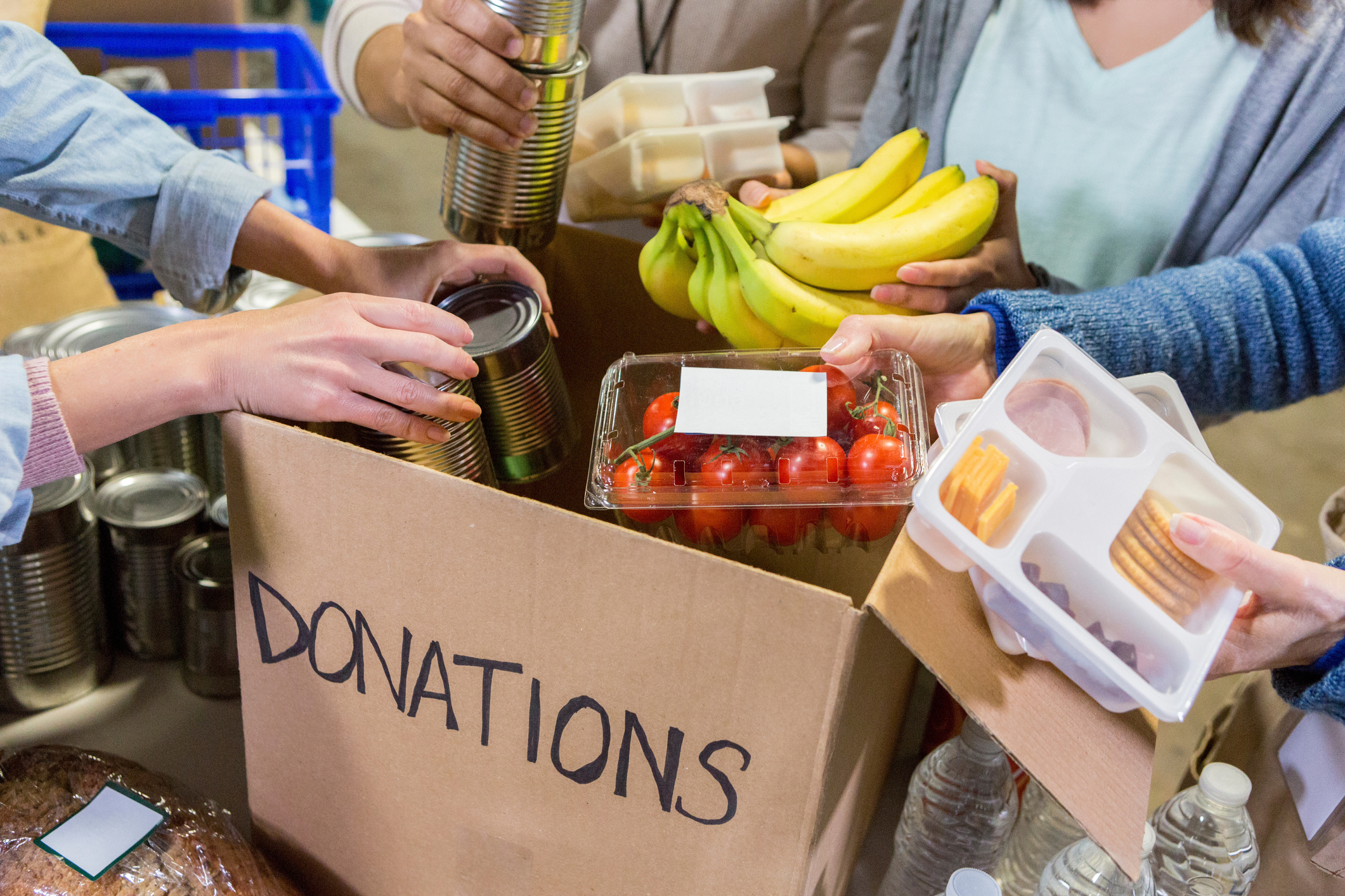 Food drive (Stock image/Getty)