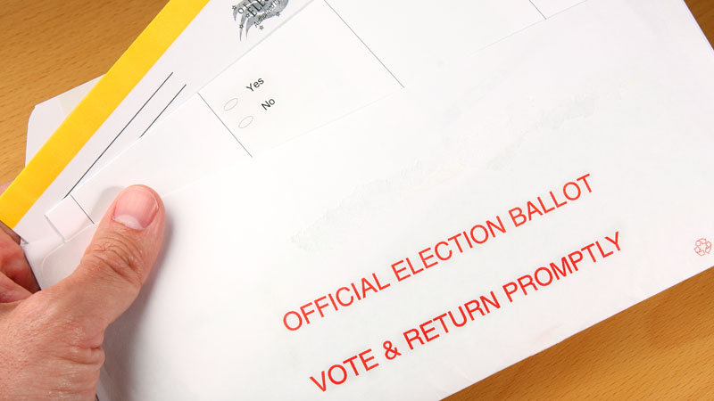 Vote by mail (Stock image/Getty)