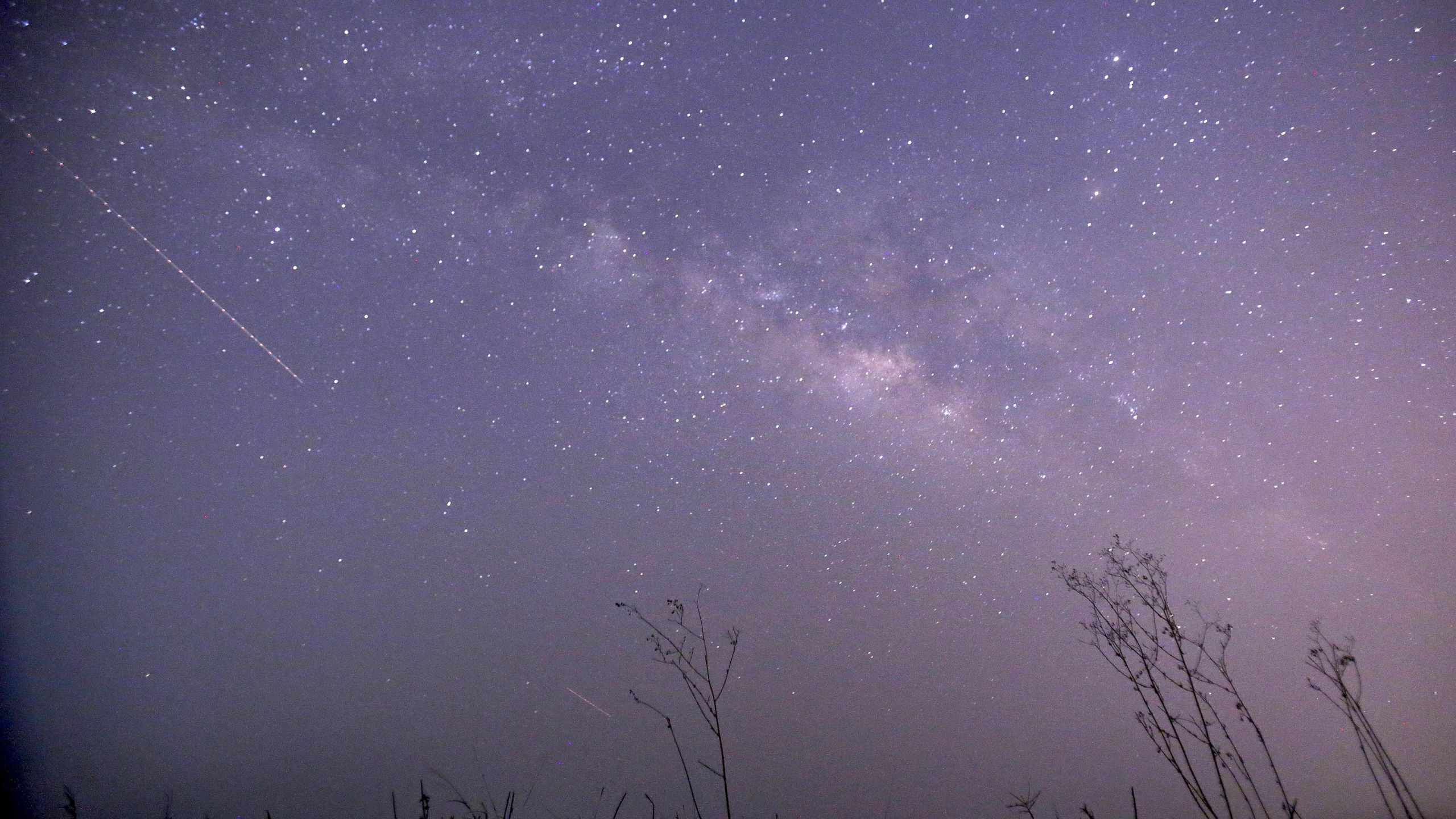 Lyrid meteor shower (Ye Aung Thu/AFP via Getty Images)