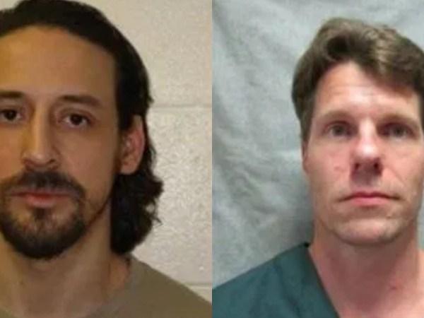 James Newman, 37, and Thomas Deering, 46