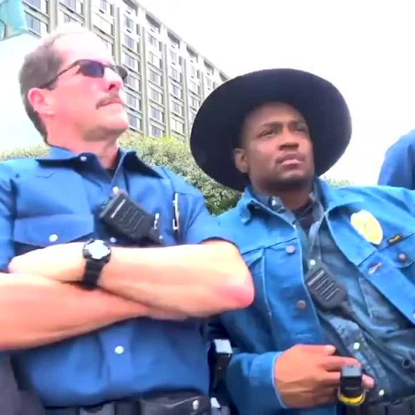 Greensboro police go 'all denim, all day' with Wrangler for April Fools