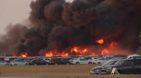 A fire at a Florida airport destroyed more than 3,500 rental cars