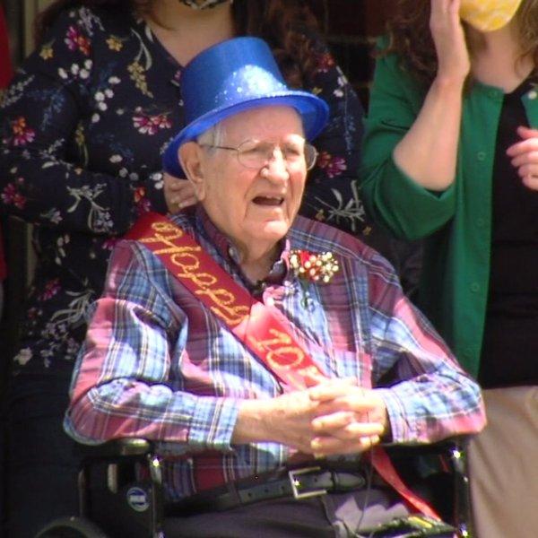 Randolph county community celebrates 105-year-old veteran's milestone birthday