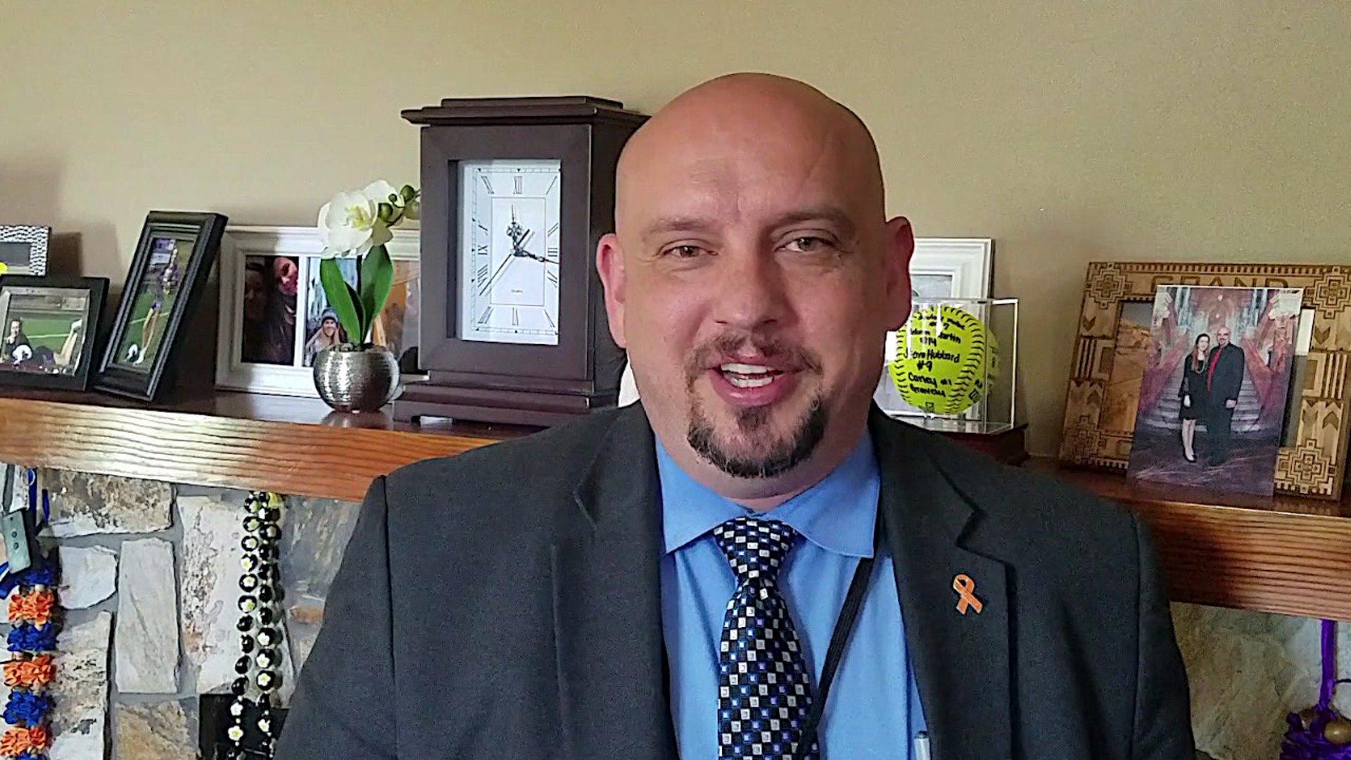 Stokes County Schools Superintendent Dr. Brad Rice