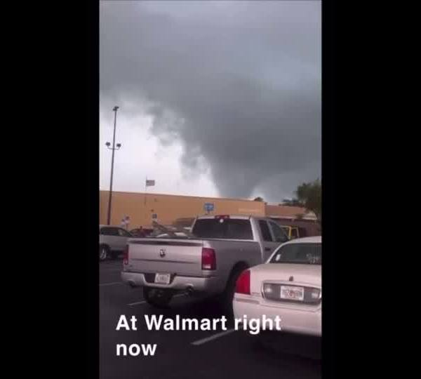 Funnel cloud caught on camera in Florida