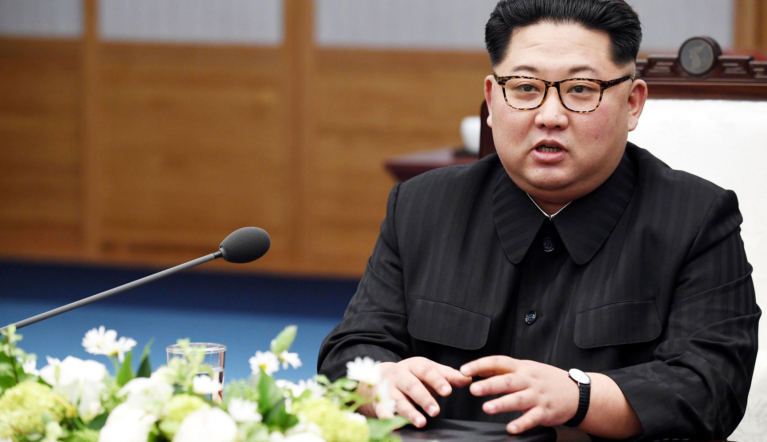 Kim Jong Un (Photo by Korea Summit Press Pool/Getty Images)