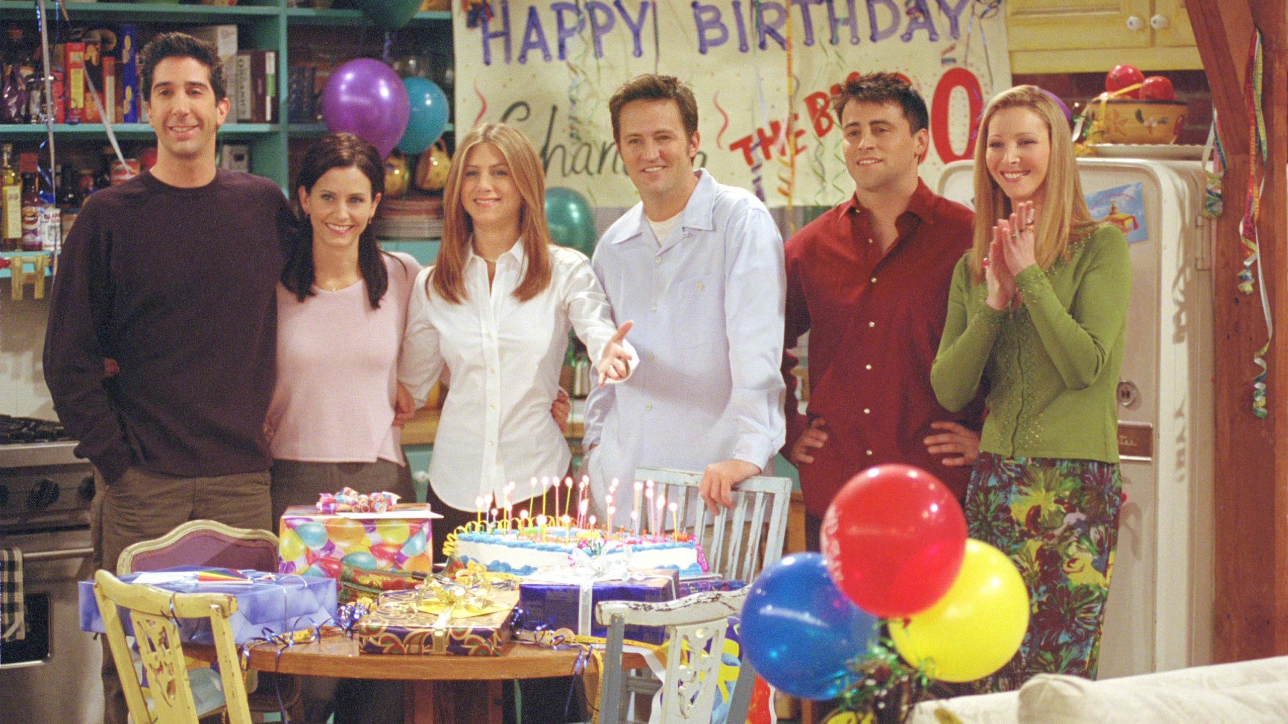 """Cast of """"Friends."""" (Hulton Archive/Getty Images)"""