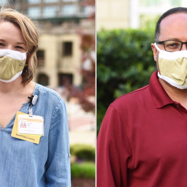 Mount Airy-based corporation working with experts at Wake Forest Baptist Health to make masks for Winston-Salem residents