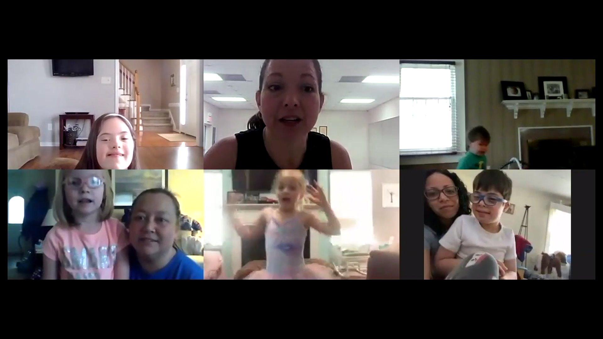 Burlington dance teacher goes virtual to continue program for kids with special needs